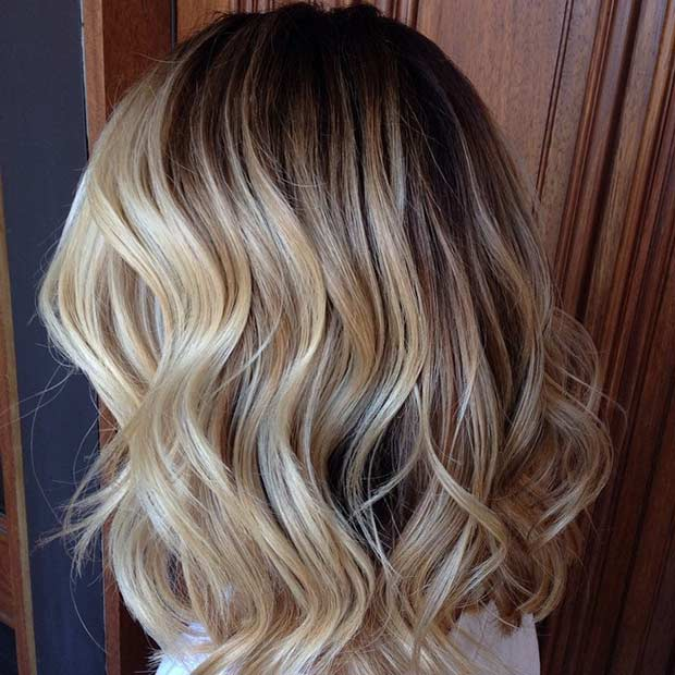 31 stunning blonde balayage looks page 2 of 3 stayglam - Balayage braun blond ...