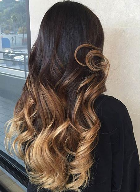 31 balayage highlight ideas to copy now page 3 of 3 stayglam caramel blonde balayage highlights for dark hair pmusecretfo Gallery