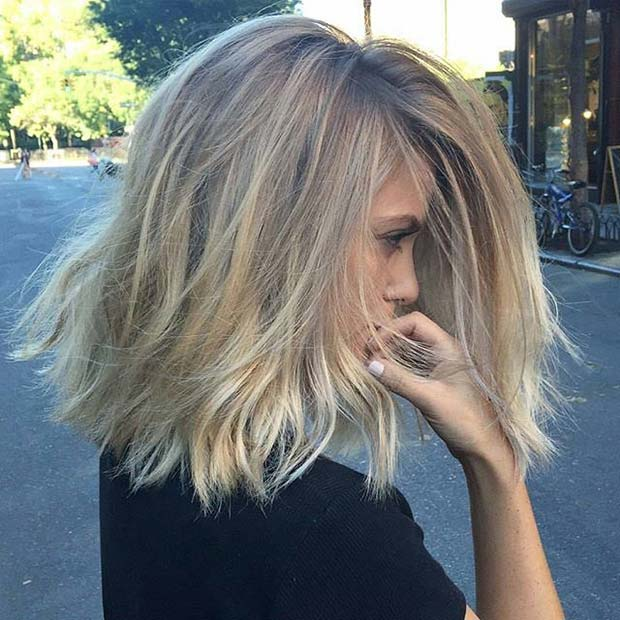 how to create dark roots light ends