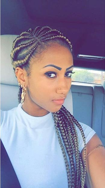 31 Stylish Ways To Rock Cornrows Page 3 Of 3 Stayglam