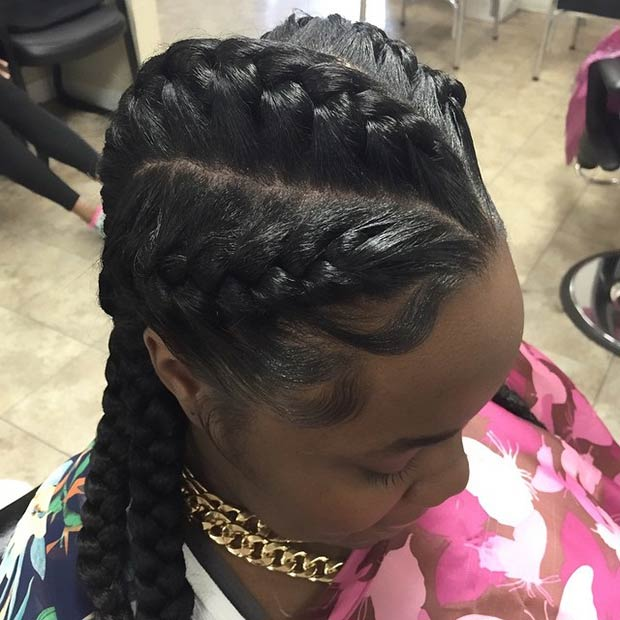 Super 31 Goddess Braids Hairstyles For Black Women Page 3 Of 3 Stayglam Hairstyle Inspiration Daily Dogsangcom