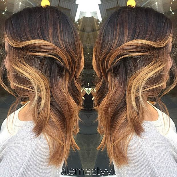 31 Balayage Highlight Ideas To Copy Now Page 2 Of 3
