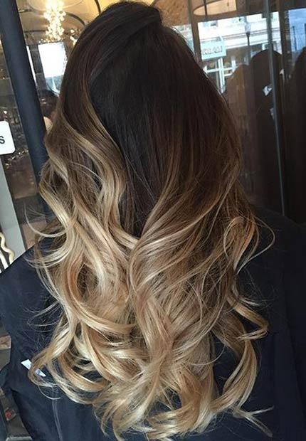 31 stunning blonde balayage looks page 2 of 3 stayglam for Balayage braun caramel