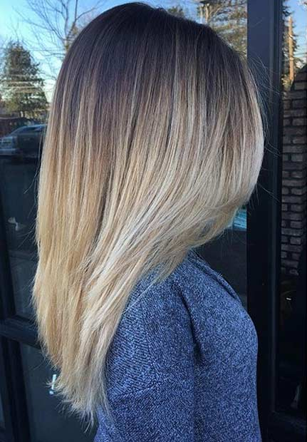 Honey Blonde Balayage for Brunettes