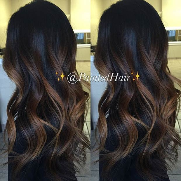 31 balayage highlight ideas to copy now page 3 of 3 - Balayage braun caramel ...