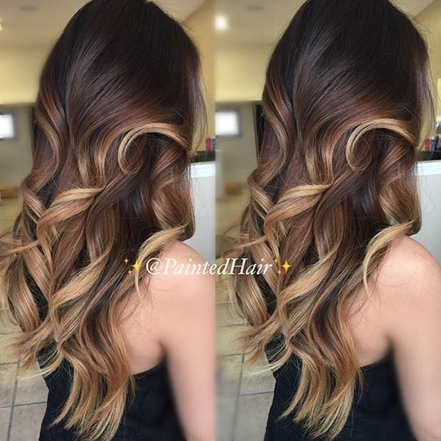 31 balayage highlight ideas to copy now page 2 of 3 stayglam caramel and honey blonde balayage highlights pmusecretfo Image collections