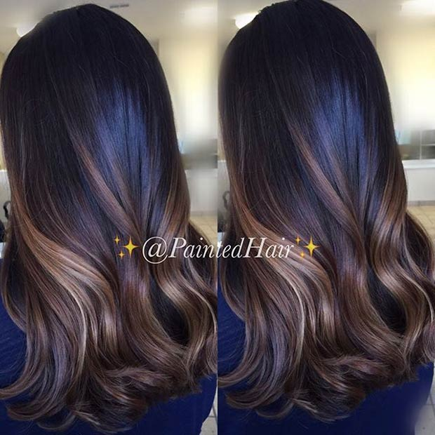 31 balayage highlight ideas to copy now stayglam golden and caramel brown balayage highlights for brunettes pmusecretfo Image collections