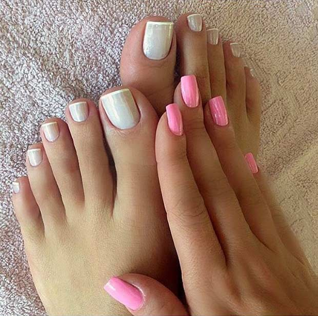 31 Easy Pedicure Designs For Spring Page 2 Of 3 Stayglam