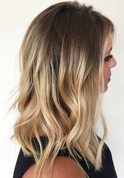 blonde on blonde balayage the image kid. Black Bedroom Furniture Sets. Home Design Ideas