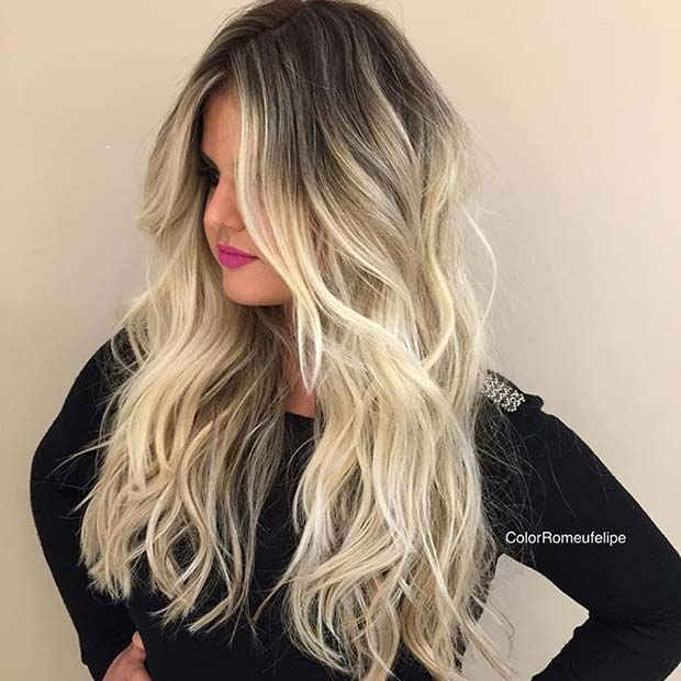 31 stunning blonde balayage looks page 2 of 3 stayglam. Black Bedroom Furniture Sets. Home Design Ideas