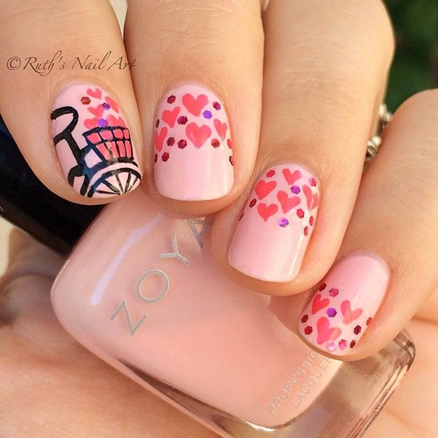 35 Cute Valentine\'s Day Nail Art Designs | Page 3 of 3 | StayGlam