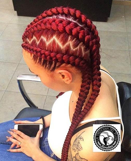 Pleasing 31 Stylish Ways To Rock Cornrows Stayglam Hairstyle Inspiration Daily Dogsangcom