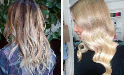 Blonde Balayage Looks