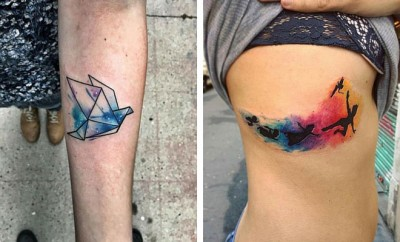 Watercolor Tattoo Ideas for Women