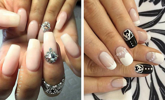 Beauty 31 Elegant Wedding Nail Art Designs