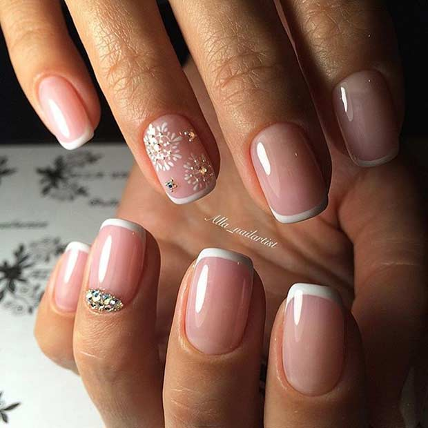31 Elegant Wedding Nail Art Designs | Page 2 of 3 | StayGlam