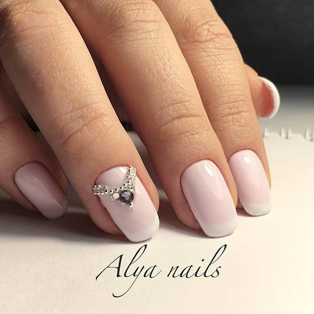 Simple Elegant Fall Nail Designs: 31 Elegant Wedding Nail Art Designs