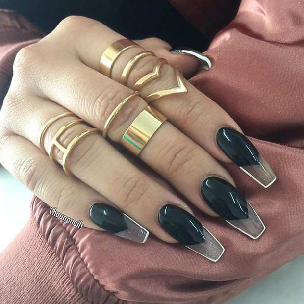 31 Trendy Nail Art Ideas for Coffin Nails | Page 3 of 3 ...
