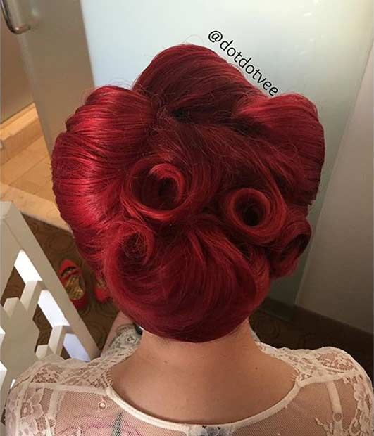 The Best 30 Pin Up Hairstyles For Glamorous Retro Girls: 21 Pin Up Hairstyles That Are Hot Right Now