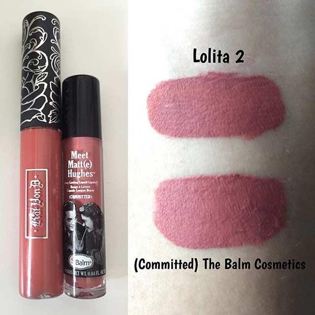 Kat Von D Lolita II Lipstick Dupe