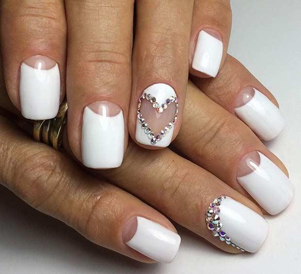 Дизайн коротких ногтей 2019 фото