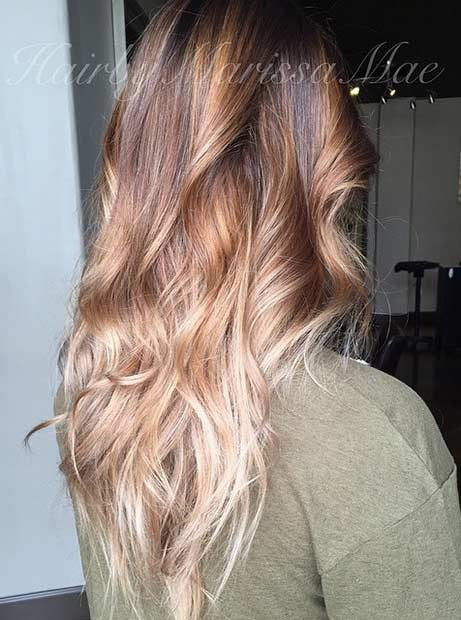 Dark and Light Blonde Beige Hair