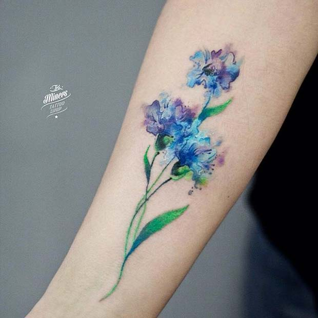 51 Watercolor Tattoo Ideas For Women Page 3 Of 5 Stayglam
