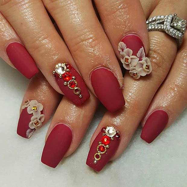 31 Trendy Nail Art Ideas for Coffin Nails | Page 2 of 3 ...
