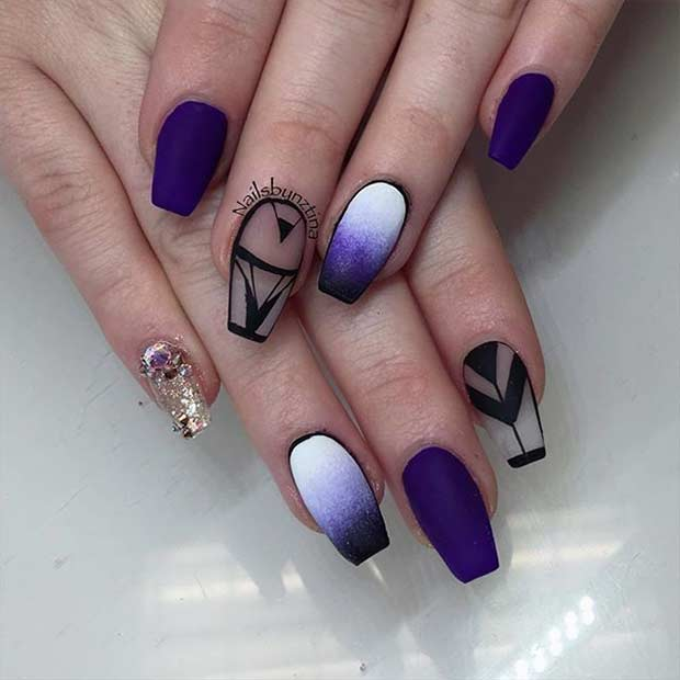 31 Trendy Nail Art Ideas For Coffin Nails Stayglam Page 3