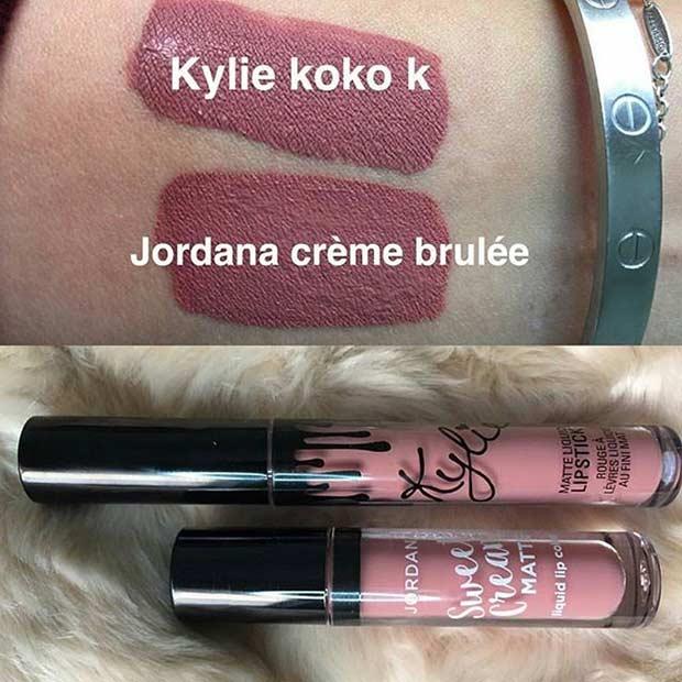 Jordana Cosmetics Lipstick