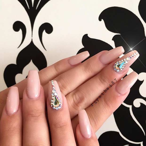 31 Trendy Nail Art Ideas for Coffin Nails | Page 2 of 3 | StayGlam