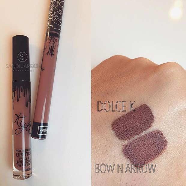 Kylie Jenner Dolce K Lipstick Dupe