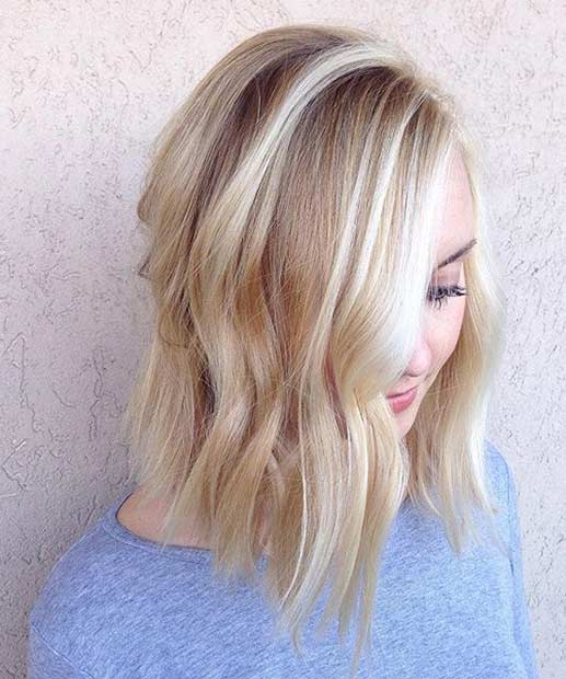 Pictures Of Light Blonde Hair With Highlights Best Image Of Blonde
