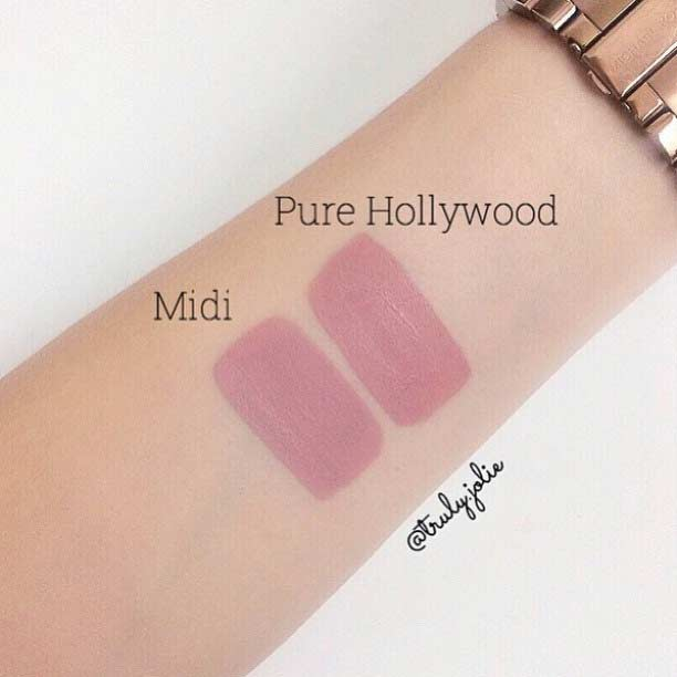 Anastasia Beverly Hills Pure Hollywood Lipstick Dupe