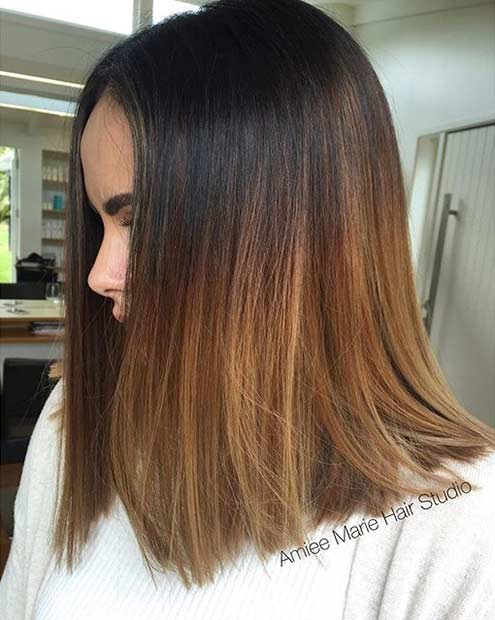 Medium Length Balayage Hair