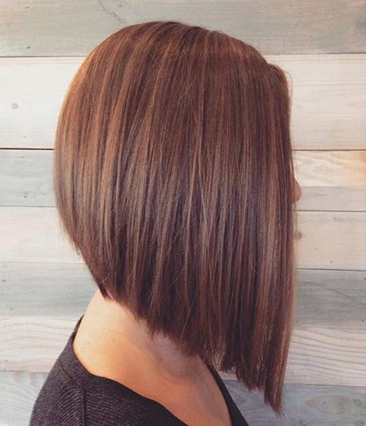 Angled Bob Haircut Pictures 2016 Hair Inverted Hairstyles 2017