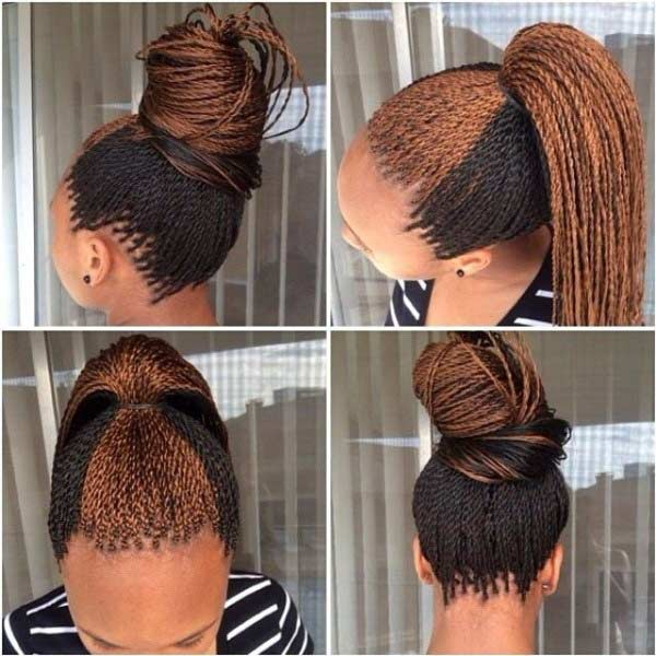 Two Toned Micro Twists Style