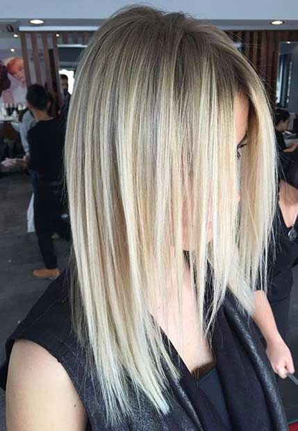 Medium Haircut Idea for Thin Hair