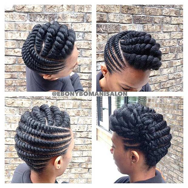21 Gorgeous Flat Twist Hairstyles Stayglam Page 2