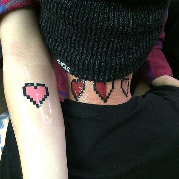 61 Cute Couple Tattoos That Will Warm Your Heart