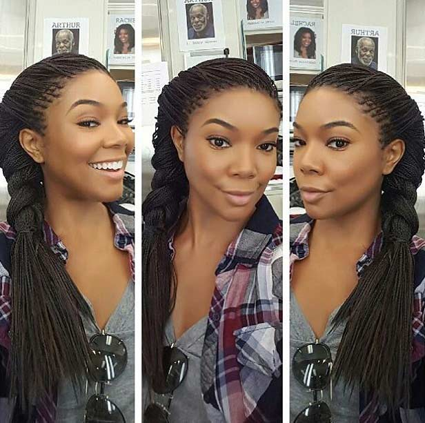 Swell 41 Beautiful Micro Braids Hairstyles Stayglam Short Hairstyles For Black Women Fulllsitofus