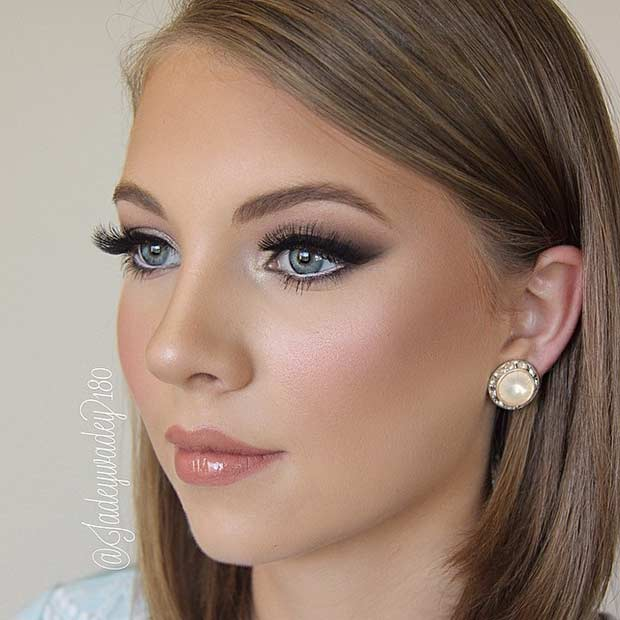 Wedding Makeup Ideas For Blue Eyes : How To Do Wedding Makeup For Blue Eyes - Mugeek Vidalondon