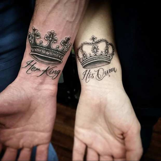 81 Cute Couple Tattoos That Will Warm Your Heart | Page 6 ...