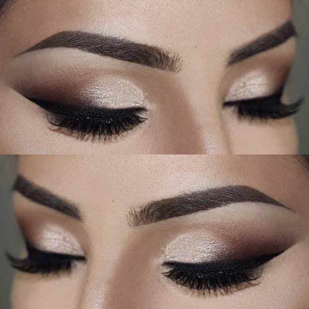 Smokey Wedding Eye Makeup Look