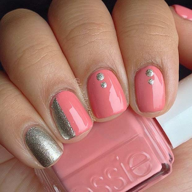 Simple Nail Designs For Short Nails: 55 Super Easy Nail Designs