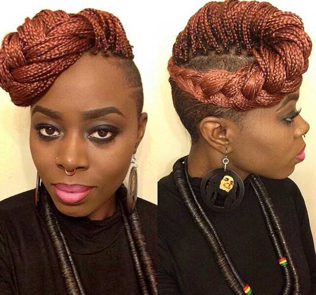 Fabulous 41 Beautiful Micro Braids Hairstyles Stayglam Short Hairstyles For Black Women Fulllsitofus
