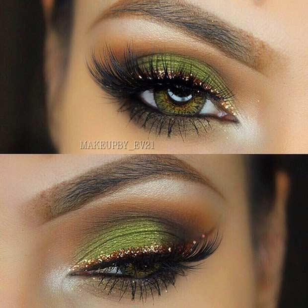 How To Make Green Eyes Pop With Makeup