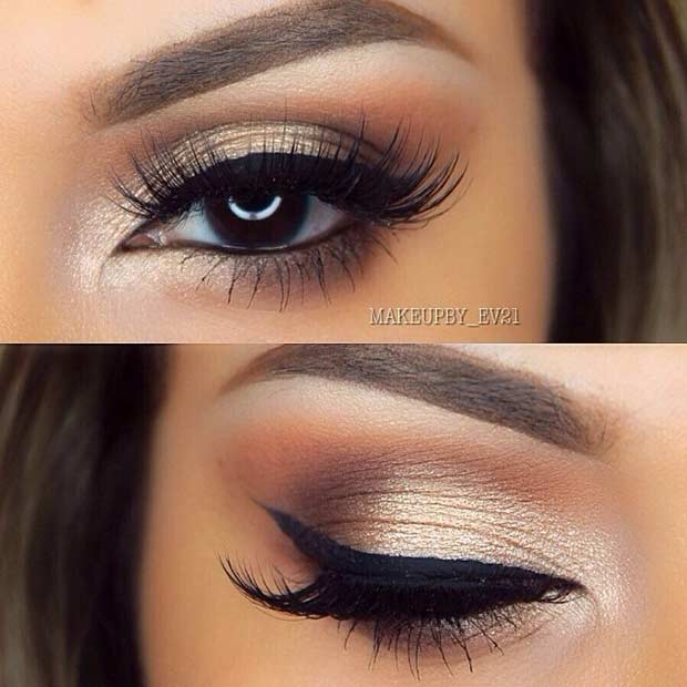 wedding makeup ideas for brown eyes 31 beautiful wedding makeup looks for brides page 2 of 3 9815