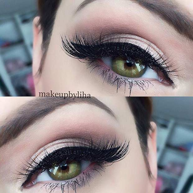 31 Pretty Eye Makeup Looks for Green Eyes | Page 3 of 3 ...