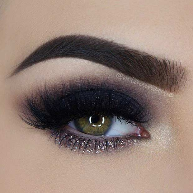 31 Pretty Eye Makeup Looks for Green Eyes | StayGlam
